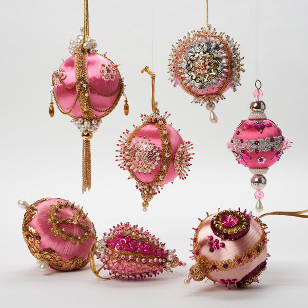 Vintage Pink Ornament - Field Guide