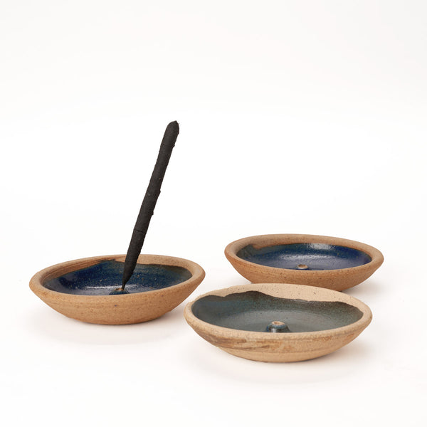 Stoneware Incense Burner - Field Guide