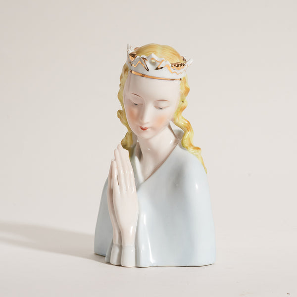 Porcelain Praying Madonna - Field Guide