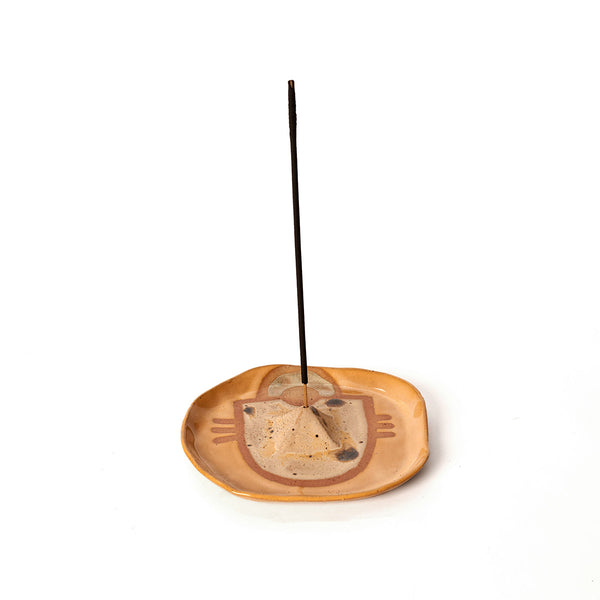 Wax Resist Incense Dish - Field Guide