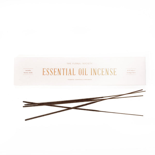 Essential Oil Incense by The Floral Society - Field Guide