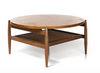 1960's Teak & Cane Coffee Table - Field Guide