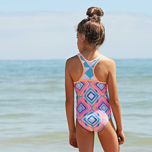 Sporty One Piece Swimsuit - Beach Tribe Junior