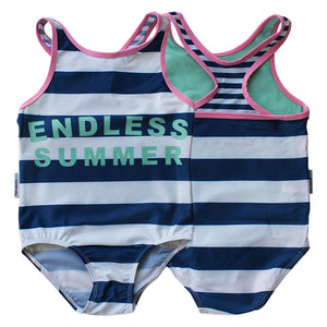 Sporty One Piece Swimsuit - Girls Sport Junior