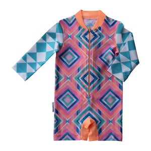 Long Sleeve Sunsuit - Beach Tribe