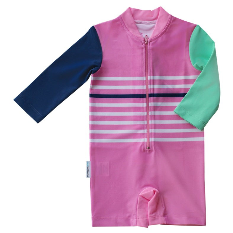 Long Sleeve Sunsuit - Girls Sport