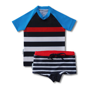 Short Sleeve Classic Rashie - Boys Sport Junior