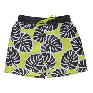 Mid Length Boardshorts - Hot Tropics Junior