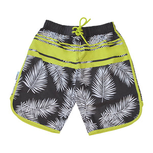 Long Scoop Boardshorts - Hot Tropics Senior