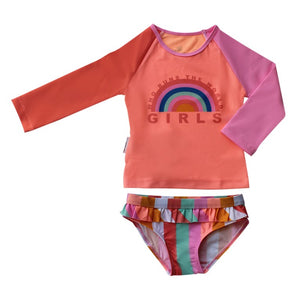 Long Sleeve Two piece set - Offbeat Rainbow Junior