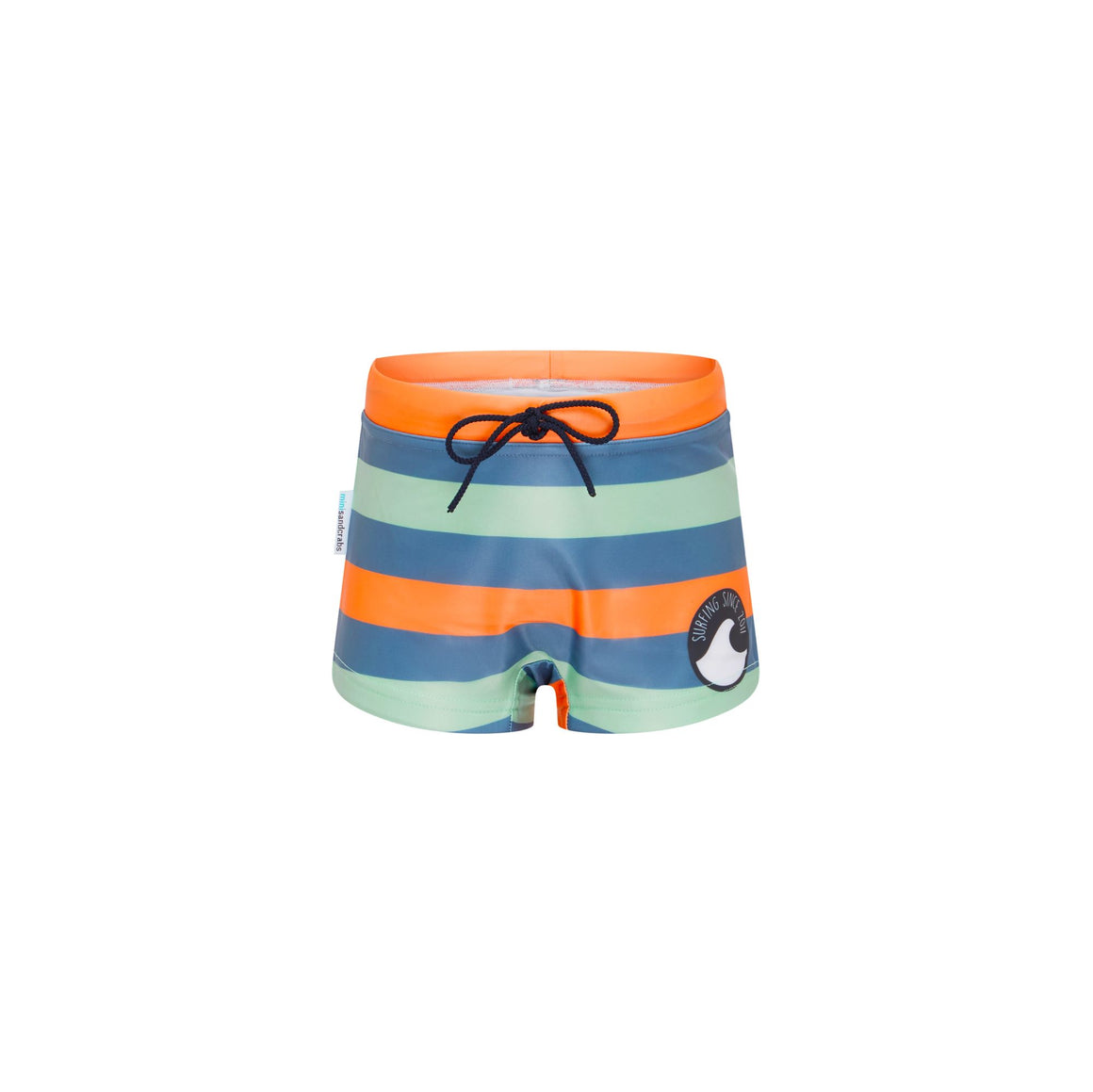 Euro Style Swimshorts - Boys Retro Vibes Junior