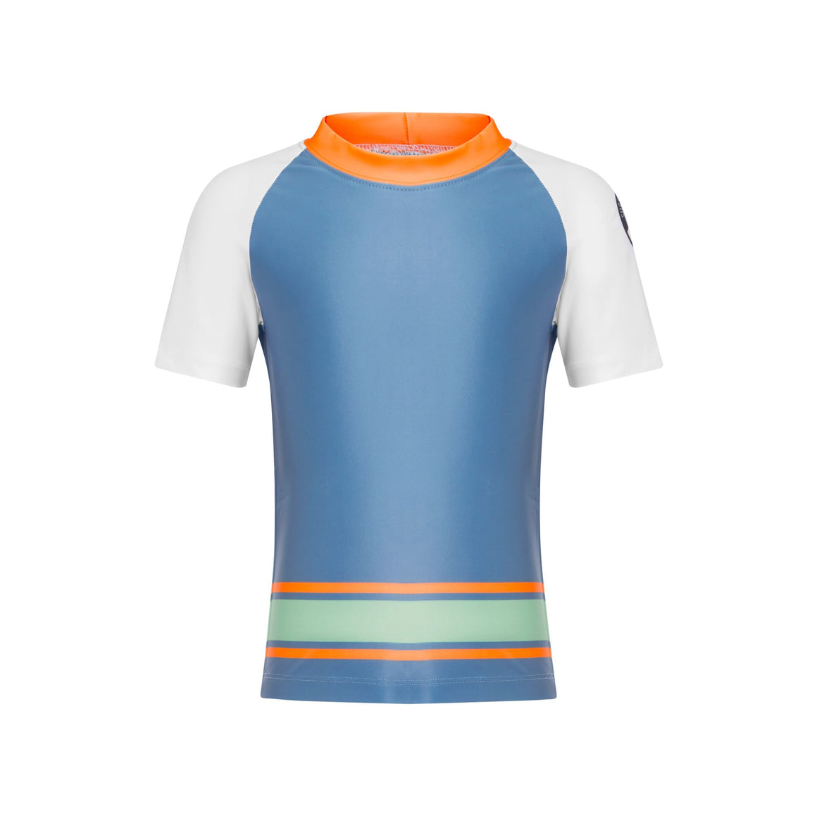 Short Sleeve Classic Rashie - Boys Retro Vibes Junior