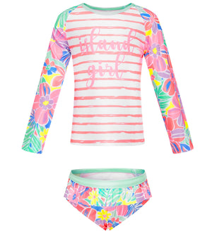 Long Sleeve Two piece set - Island Life Junior