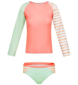 Long Sleeve Two piece set -Retro Vibes Senior