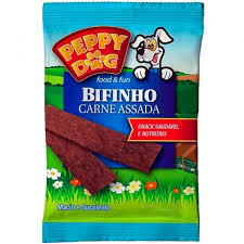 Bifinho Peppy Dog Carne Assada 55g
