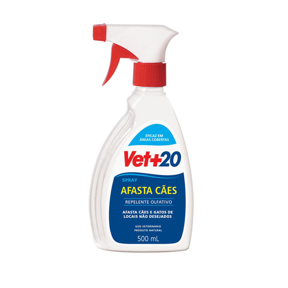 Afasta Cães Vet + 20 Spray 500ml