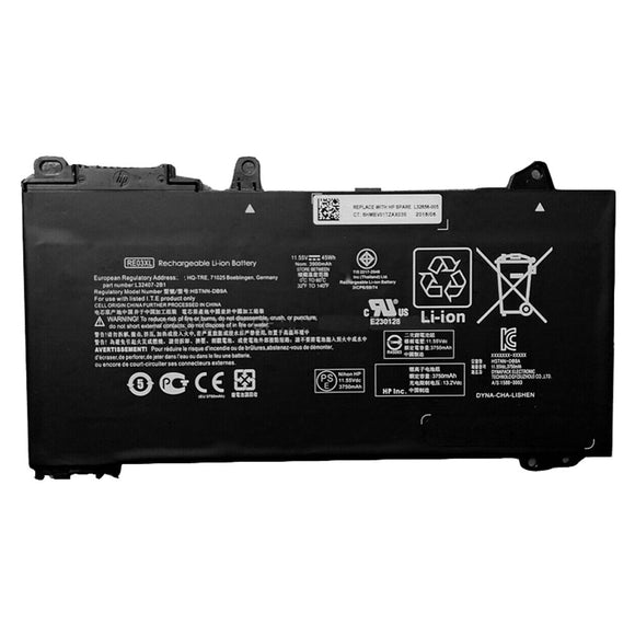 HP RE03XL Battery