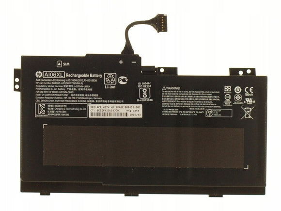 HP 808397-421 HSTNN-LB6X 808451-001 Rechargeable Li-ion Battery