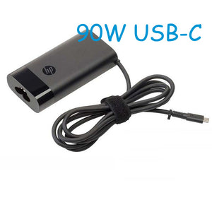 HP Spectre 15t-bl100 x360 Convertible PC 90W usb-c slim Travel Power Adapter