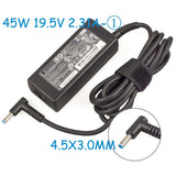 New HP 17g-br000 17g-br100 17q-bu000 45W 19.5V 2.31A/65W 19.5V 3.33A Slim AC Adapter Power Charger+Cable