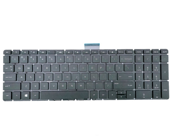 HP 17-by1000 17t-by100 Laptop Keyboard-black