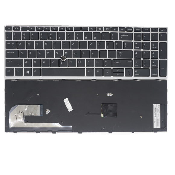 HP ZBook 15u G5 Laptop US Keyboard
