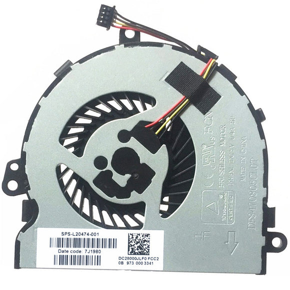 HP 15-da1000 Laptop CPU Fan UMA