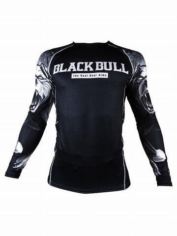 BLACK BULL Rash Guard – ARM Maniche Lunghe