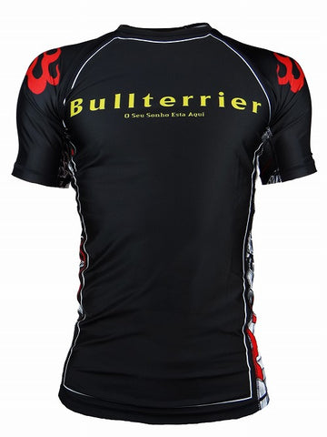 BULLTERRIER Rash Guard - MUSHIN 3.0 SHORT SLEEVE