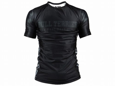 BULLTERRIER Rash Guard – MUSHIN DARK Maniche Corte