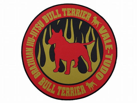 BULLTERRIER Patch – FIRE CIRCLE Golg S
