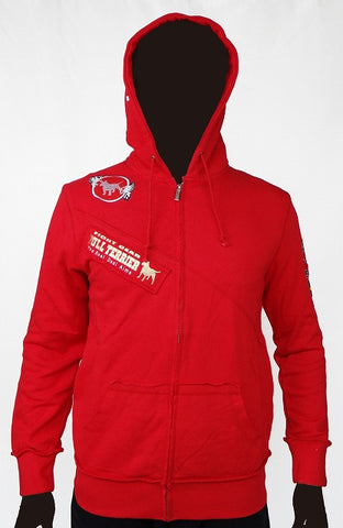 BULLTERRIER Hooded – ZIP TRADITIONAL