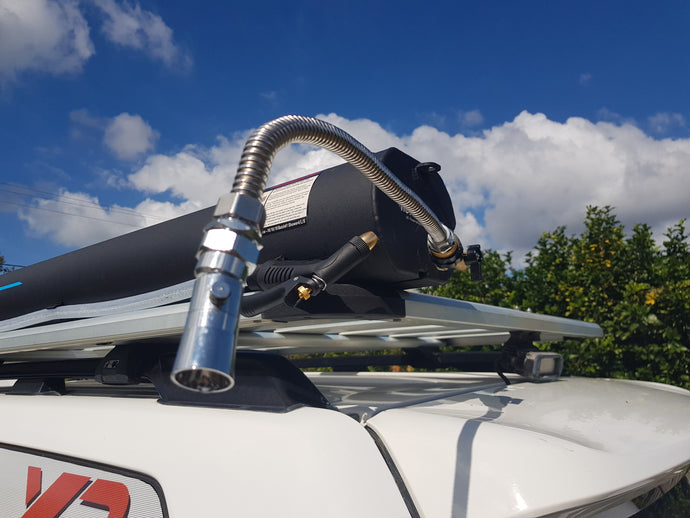 Roadshower 4, Portable, pressurised water on Tap, 3 Sizes available.