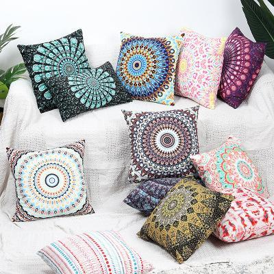 Fashion Bohemian Printed Flannelette Pillow
