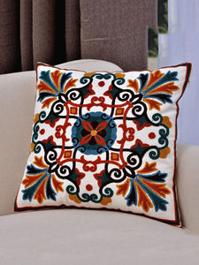 Vintage Ethnic Style Embroider Cotton Pillowcase,45CM*45CM
