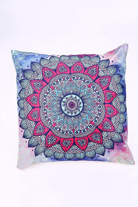 Vintage Bohemian Geometry Abstract Pattern Cotton-Linen Pillowcase,45*45Cm