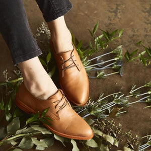 Vintage Shoes Plus Size Office Lace Up Classic Loafers