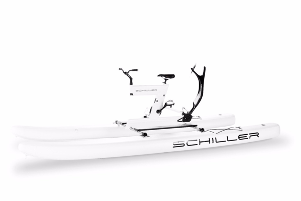 Schiller S1-C White Frame on White Pontoons