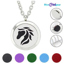 "<span style=""color:#990000;"">🐎</span>  Horse Essential Oils Diffuser Necklace - BluebirdGear™"