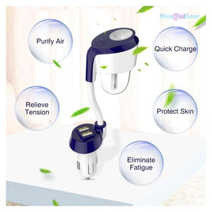 Nanum™ II Car Steam Humidifier Air Purifier - BluebirdGear™
