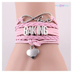 "<span style=""color:#990000;"">🌟</span>  Love Baking Infinity Leather Bracelet - BluebirdGear™"
