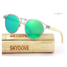 "<span style=""color:#990000;"">👓</span> Bamboo Vintage Wooden Polarized Sunglasses - BluebirdGear™"