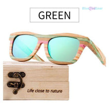"<span style=""color:#990000;"">👓</span> Vintage Wooden Women Sunglasses - BluebirdGear™"