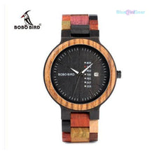 "<span style=""color:#990000;"">⌚</span> Bamboo Wooden Lover Watch - BluebirdGear™"