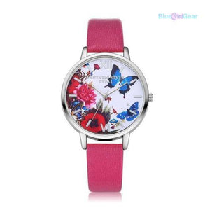 "<span style=""color:#990000;"">⌚</span> Butterfly Women Quartz  Watch - BluebirdGear™"