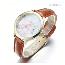 "<span style=""color:#990000;"">⌚</span> Springtime Woman Leather Watch - BluebirdGear™"