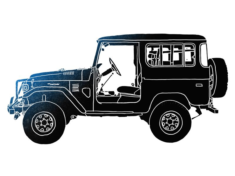 FJ-40 Landcruiser Limited Edition Print