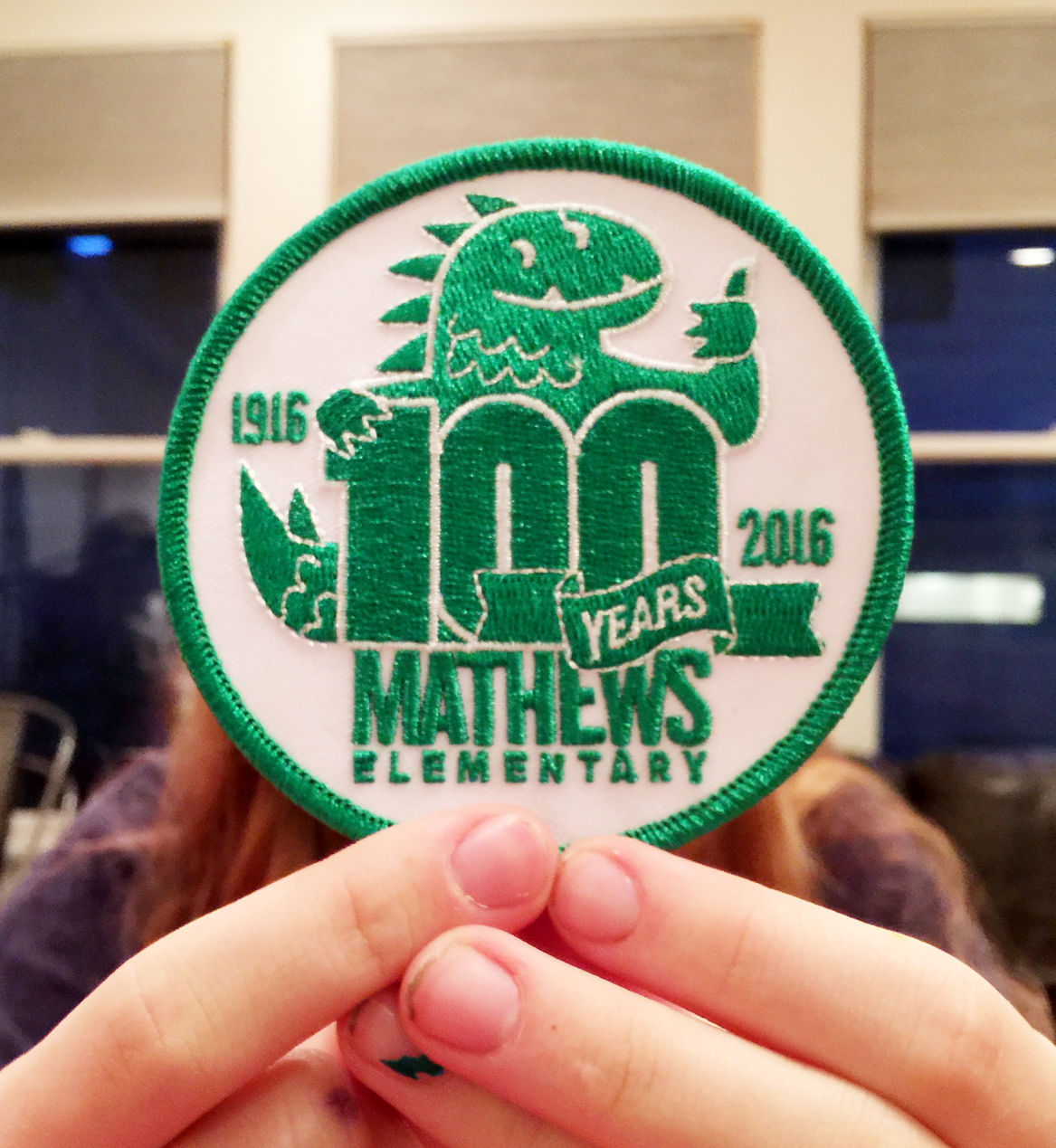 Mathews 100 Year Patch