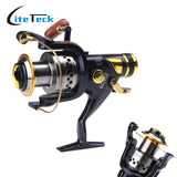 5.2:1 9+1BB Ball Bearings Left/Right Interchangeable Front Drag Carp Fishing reel SW50