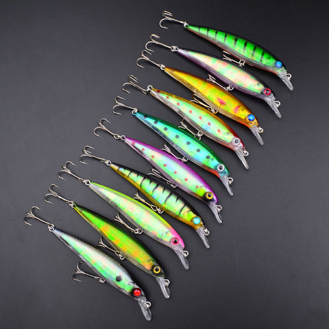 Altrusim  2016 New Arrivals Top Quality Multicolor  Afticifl Bait Fishing Lures Sold In 5 Pieces